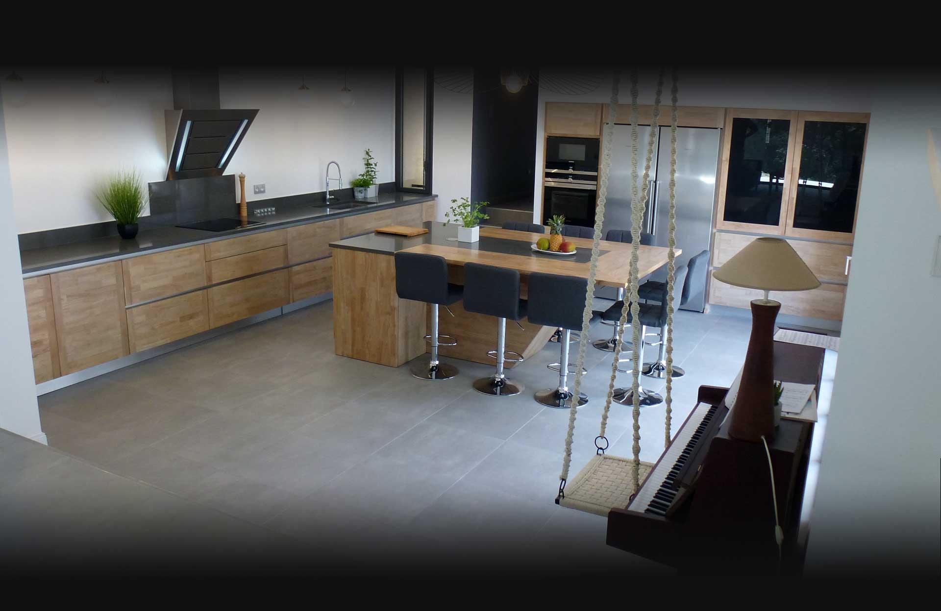 Atelier Bois Et Deco Fabricant De Cuisine Cuisiniste Vaucluse