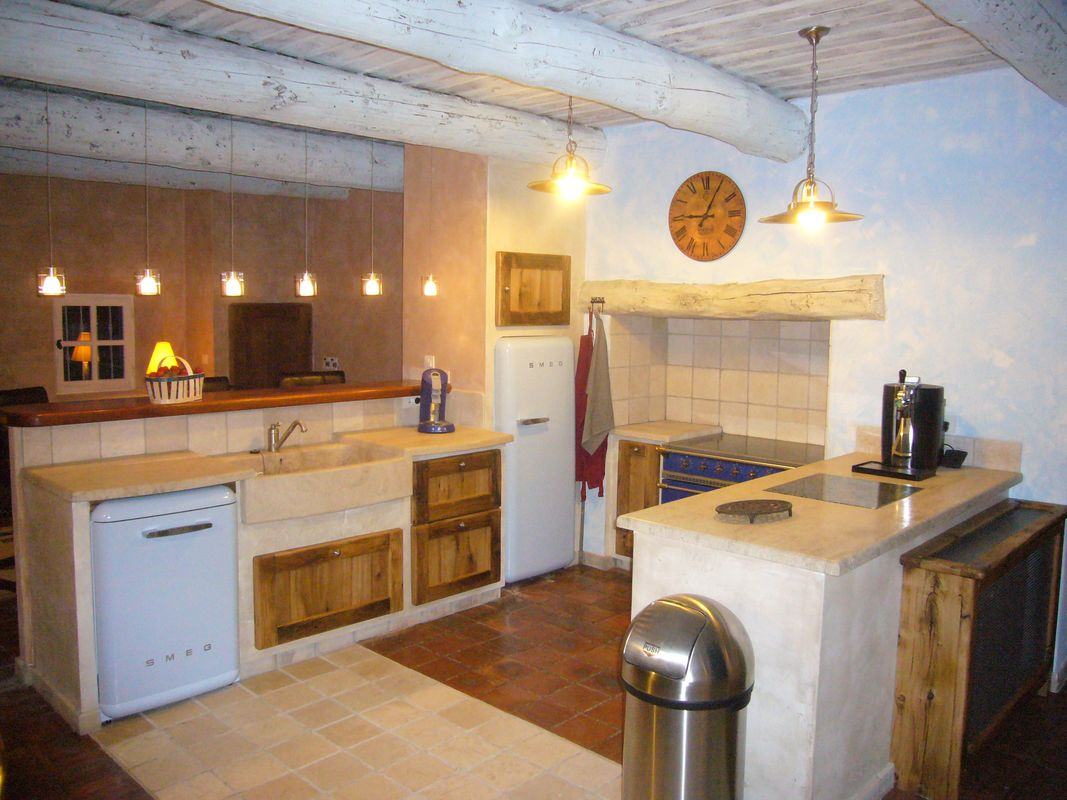 cuisine Provençale vieux mas
